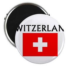 "Cute Switzerland 2.25"" Magnet (10 pack)"