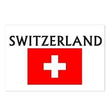 Unique Geneva switzerland Postcards (Package of 8)