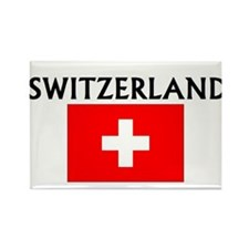 Cute Switzerland Rectangle Magnet