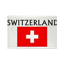 Cute Switzerland Rectangle Magnet (100 pack)