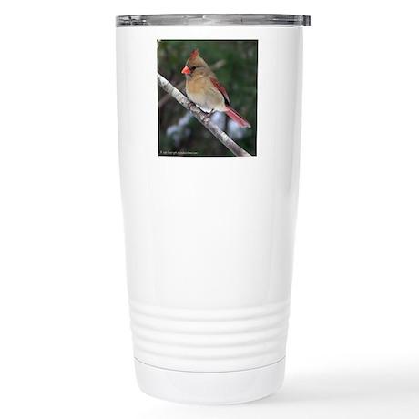 Georgia Birds Stainless Steel Travel Mug