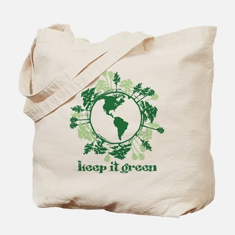 Keep It Green Tote Bag