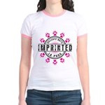 Imprinted Stamp Jr. Ringer T-Shirt