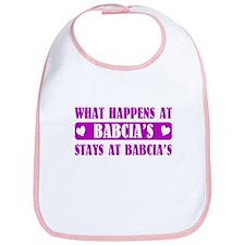 What Happens at Babcia's Bib