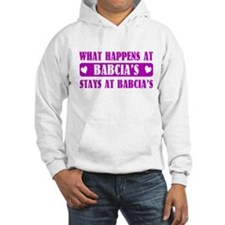 What Happens at Babcia's Hoodie