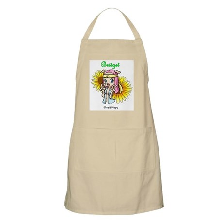 """Stupid Hippy"" Bridget Apron"