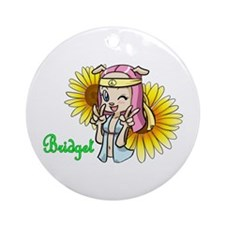 Bridget Ornament (Round)