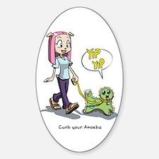 Curb Your Amoeba Decal