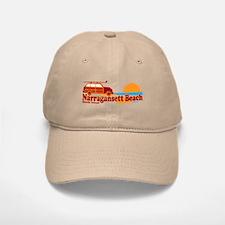 Narragansett RI - Surfing Design Baseball Baseball Cap