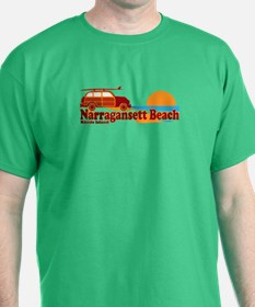 Narragansett RI - Surfing Design T-Shirt