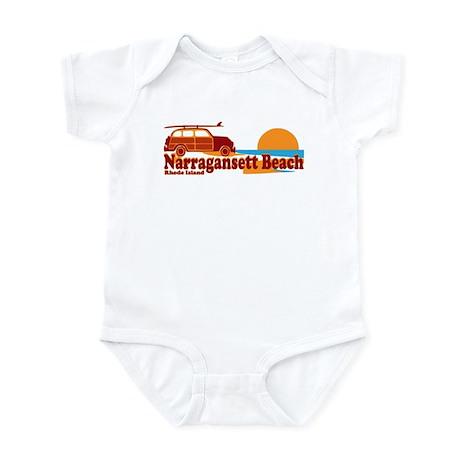 Narragansett RI - Surfing Design Infant Bodysuit