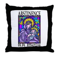 99.9% Effective Throw Pillow