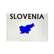 sloveniamap Magnets