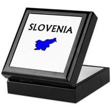 Cute Slovenia Keepsake Box