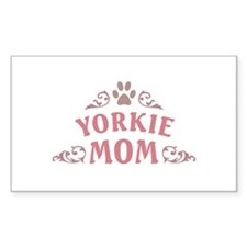 Yorkie Mom Decal