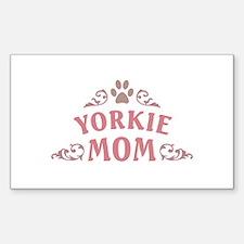Yorkie Mom Decal
