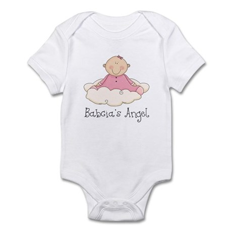 Babcia's Angel (Girl) Infant Bodysuit