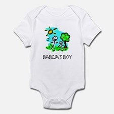Babcia's Boy Infant Bodysuit