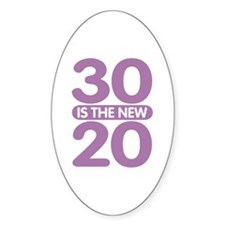 30 is the new 20 Decal