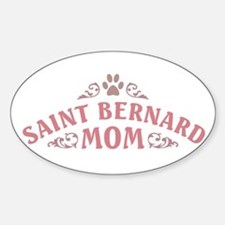 Saint Bernard Mom Decal
