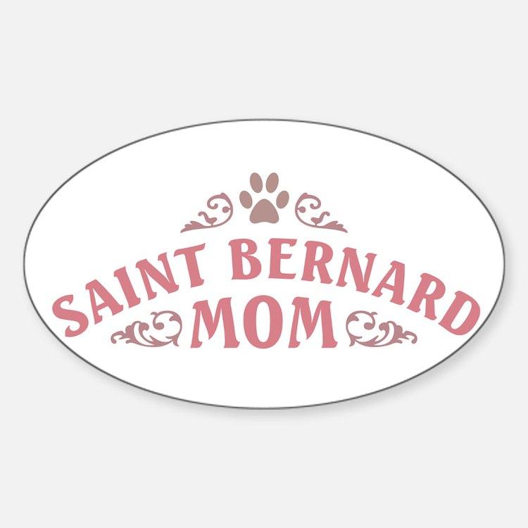 Saint Bernard Mom Decal