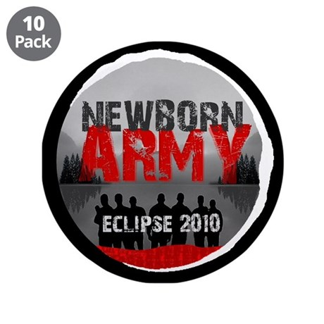 "Eclipse Newborn Army 3.5"" Button (10 pack)"