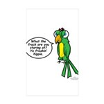 Tommy - Stop Staring Sticker (Rectangle 50 pk)