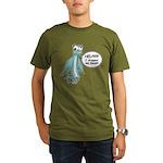 Clyde - Help! Organic Men's T-Shirt (dark)