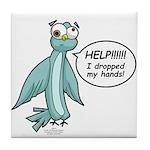 Clyde - Help! Tile Coaster
