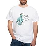 Clyde - Help! White T-Shirt