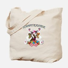 Easter Doxies Tote Bag