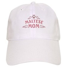 Maltese Mom Baseball Cap
