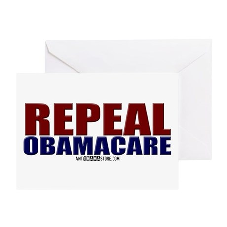 Repeal Obamacare Greeting Cards (Pk of 10)