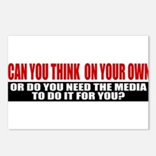 Can You Think On Your Own Postcards (Package of 8)