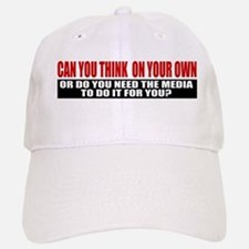 Can You Think On Your Own Baseball Baseball Cap