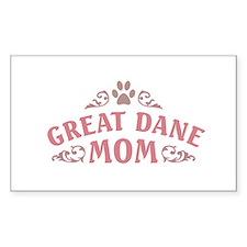 Great Dane Mom Decal