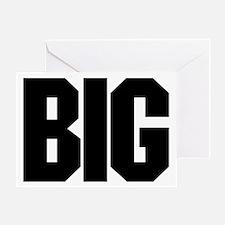"""BIG"" Greeting Card"