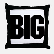 """BIG"" Throw Pillow"
