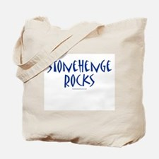 Stonehenge Rocks (Blue) - Tote Bag
