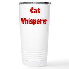 Cat Whisperer Travel Mug