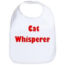 Cat Whisperer Baby Bib