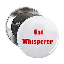 "Cat Whisperer 2.25"" Button (10 pa"