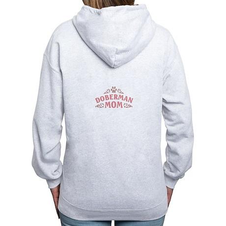 Doberman Mom Women's Zip Hoodie