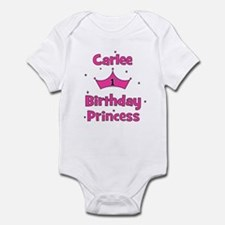 1st Birthday Princess Carlee! Infant Bodysuit