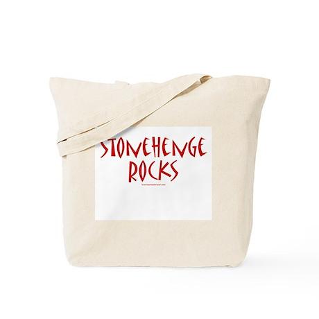 Stonehenge Rocks (Red) - Tote Bag