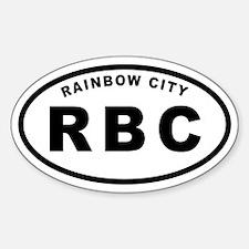 RBC - Rainbow City Decal