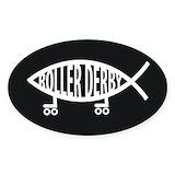 Roller derby Stickers & Flair
