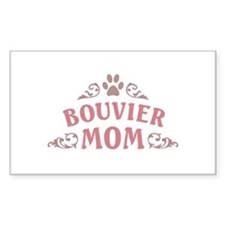 Bouvier Mom Decal