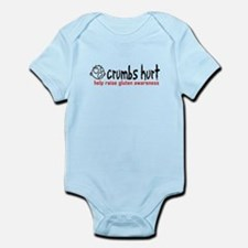 Crumbs Hurt Infant Bodysuit