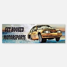GET HOOKED MOTORSPORTS Bumper Bumper Sticker